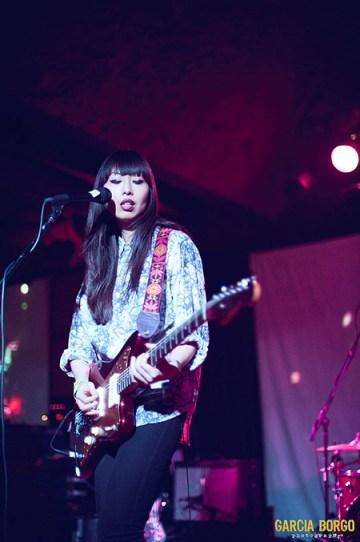 Vu, en un concierto de Sisu // Fotografía de sandravu.com