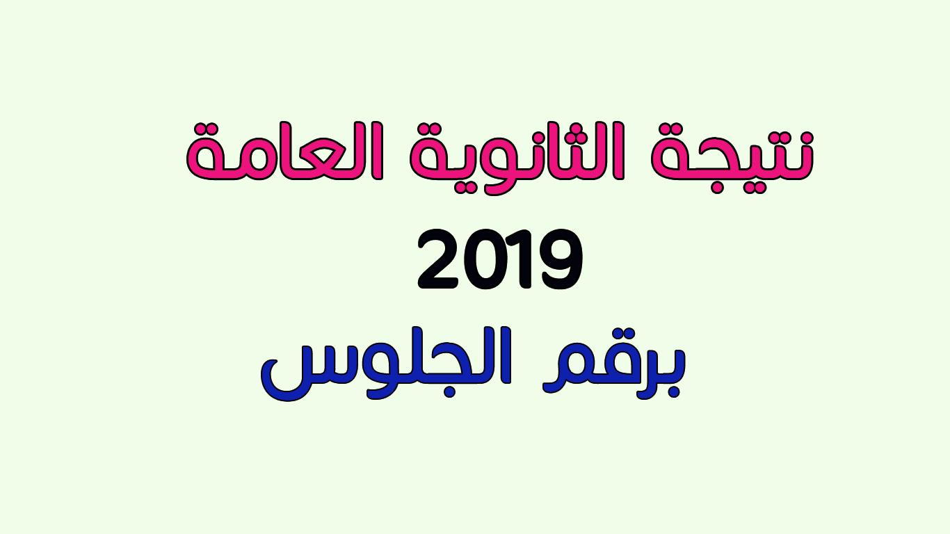 نتيجة الثانوية العامة 2019 بالإسم و رقم الجلوس اليوم السابع