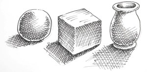How To Shade Drawings With Cross Hatching Shoo Rayner