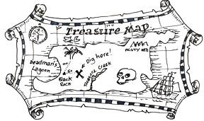 treasure island | Shoo Rayner