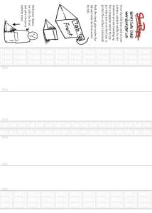 Click to download the Free character stands sheet