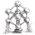 How-to-draw-the-atomium