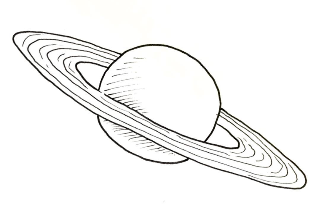 Draw-Saturn | Shoo Rayner