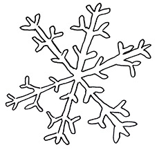 How to Draw a Snowflake Real Easy | Shoo Rayner