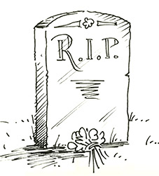 How to draw a tombstone   Shoo Rayner
