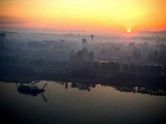 North Korea Sunrise