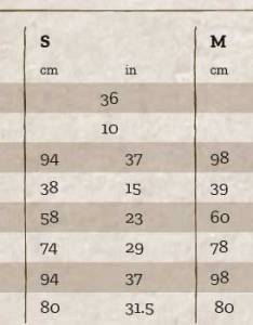 Women   size chart cm in also guide shooterking rh