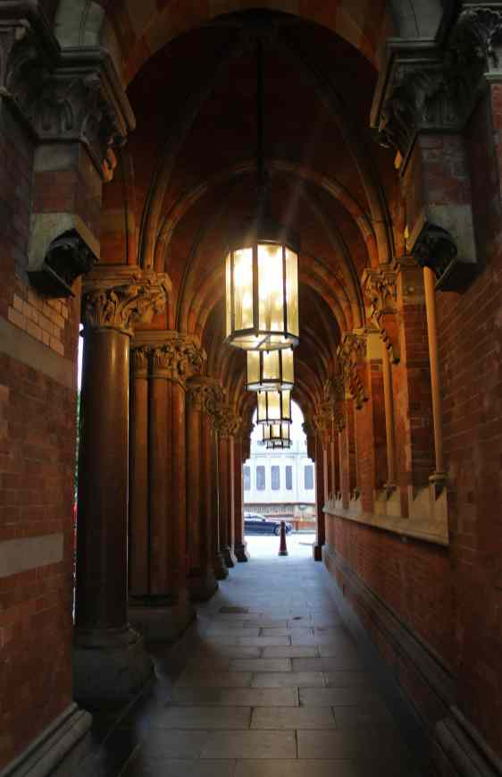 Corridors and lighting detail
