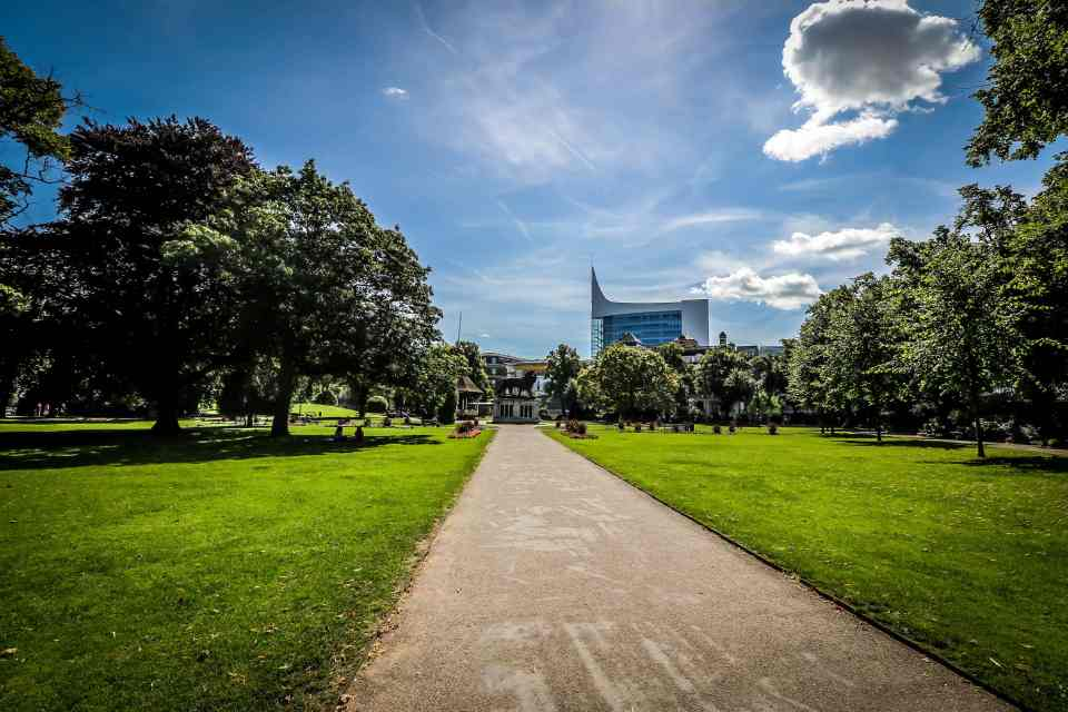 Forbury Gardens in Reading