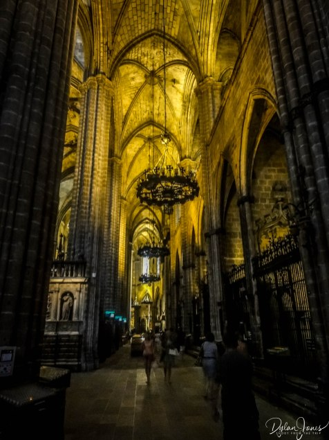 Barcelona Cathedral interior