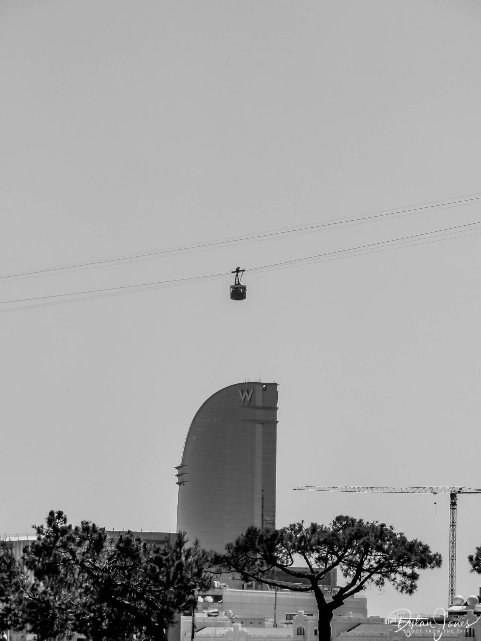 Cable cars of Barcelona