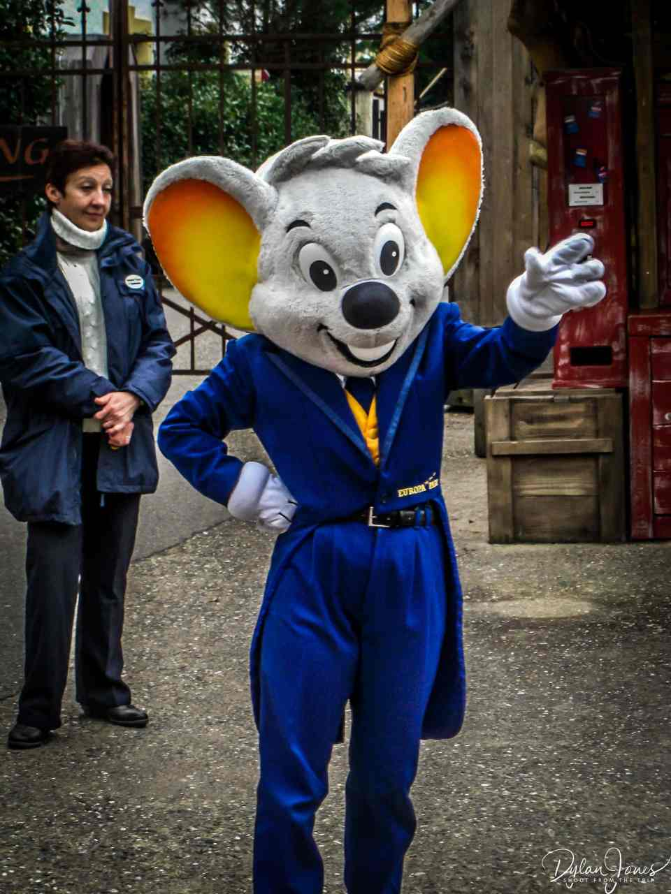 Ed Euromaus, the park's mascot.