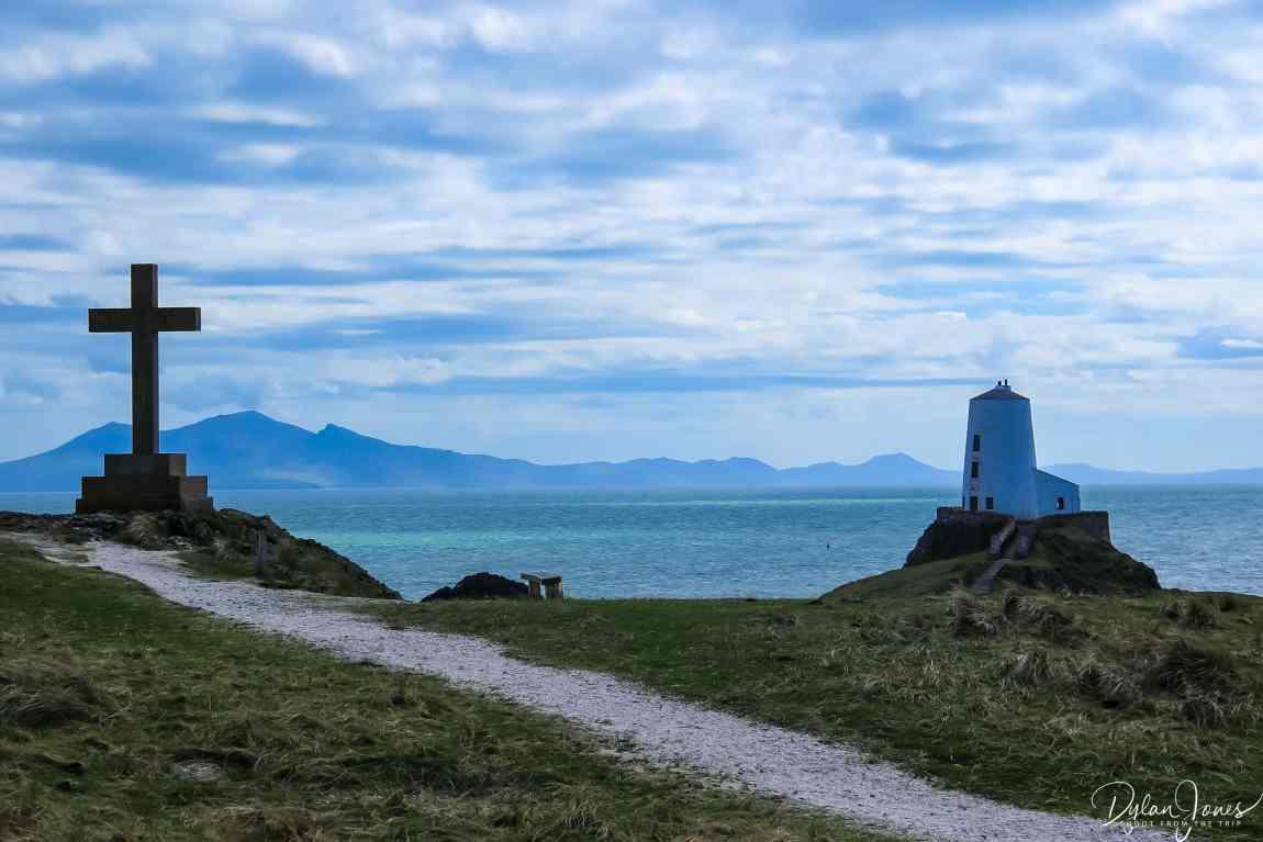 Tŵr Mawr Lighthouse on Llanddwyn Island Wales
