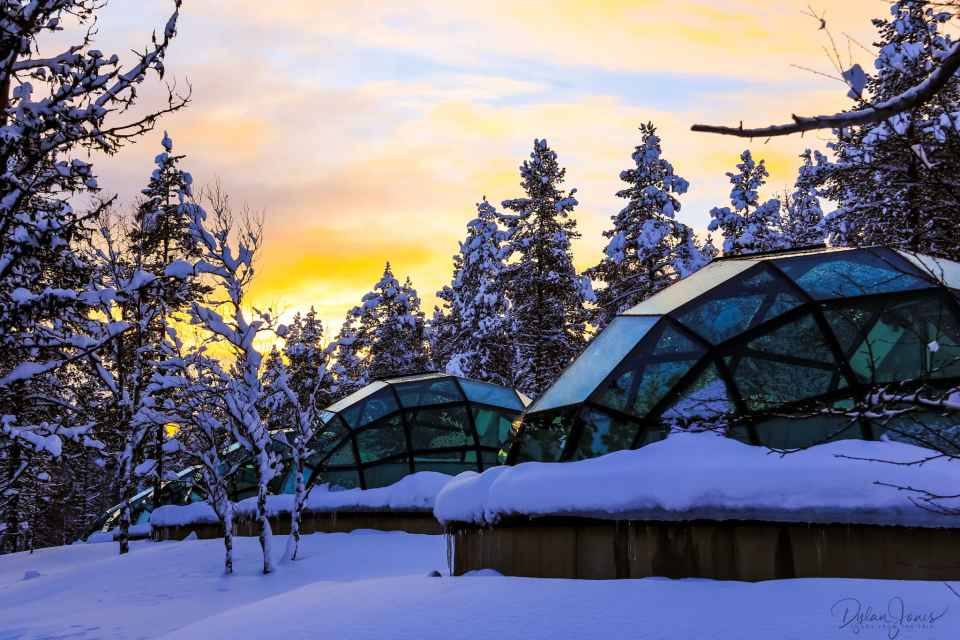 The Glass Igloo experience at Kakslauttanen Arctic Resort