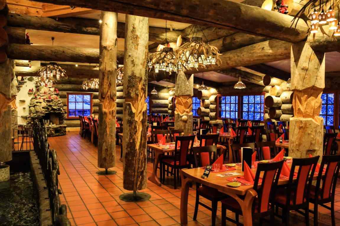 Aurora Restaurant at Kakslauttanen West Village