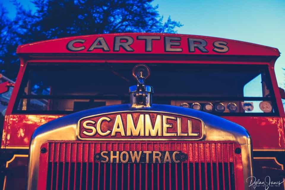 A transport vehicle at Carters Steam Fair