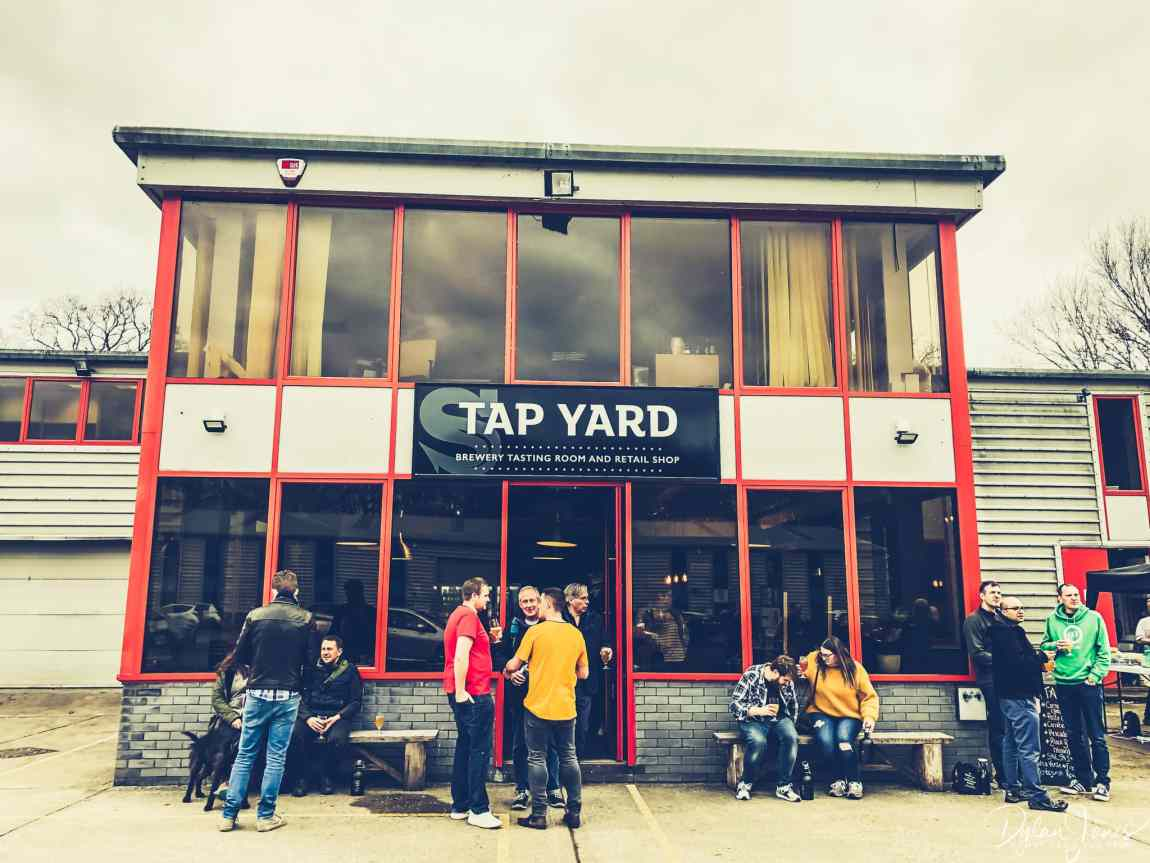 Siren Craft Brewery Tap Yard, Berkshire Brewery Tours