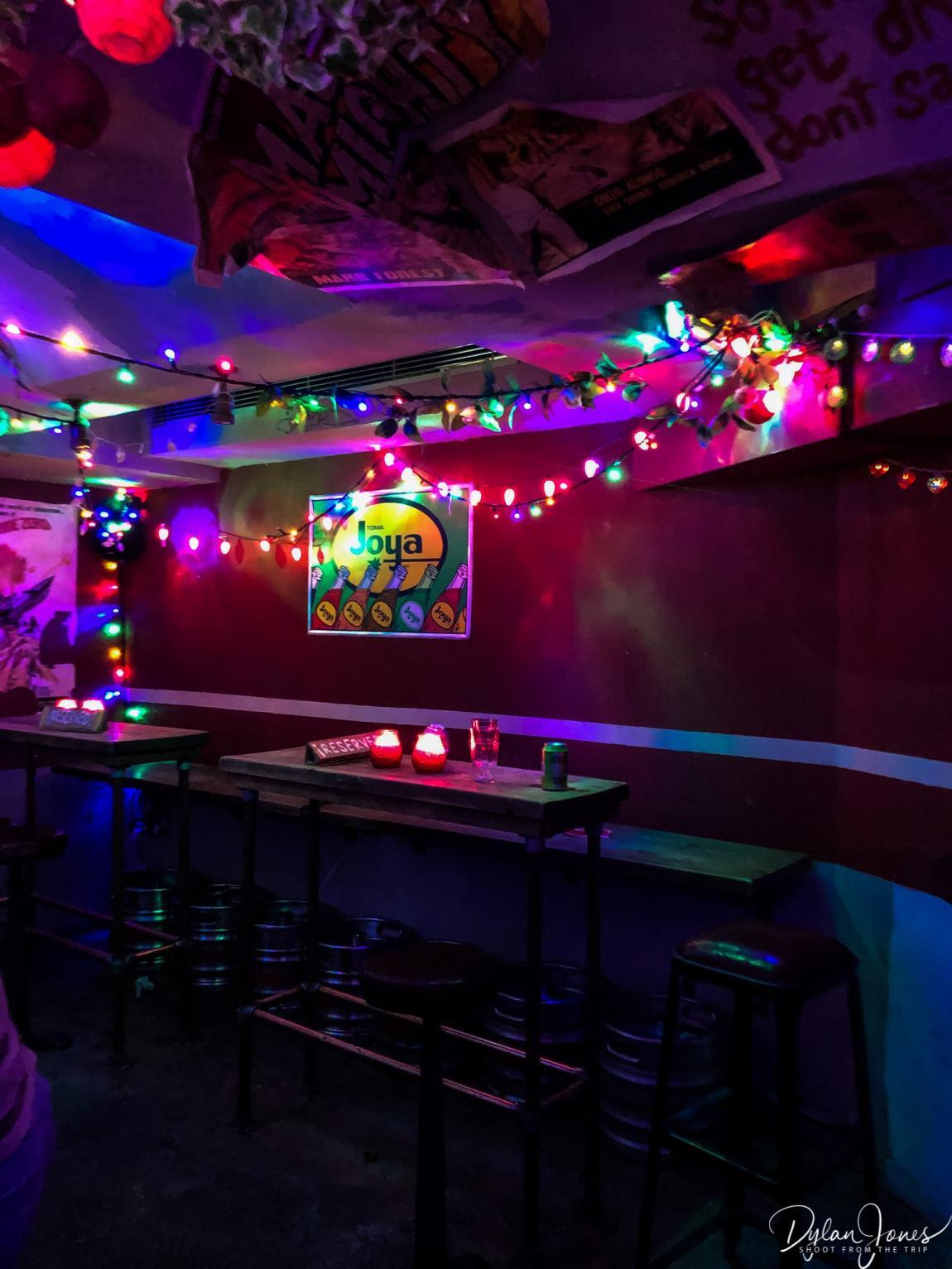 Call Me Mr. Lucky - a secret dive bar in the London Bridge area