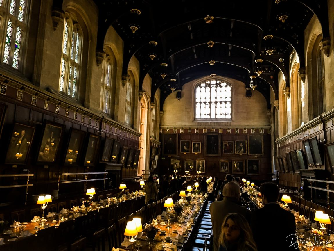 The (Hogwarts) Great Hall at Christchurch Cathedral