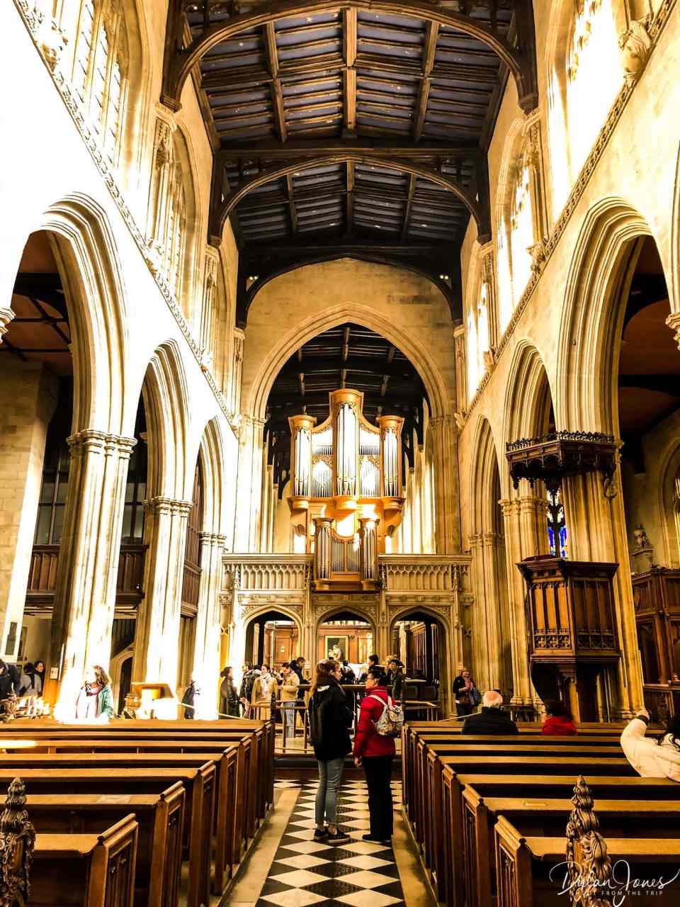 University Church of St. Mary the Virgin interior