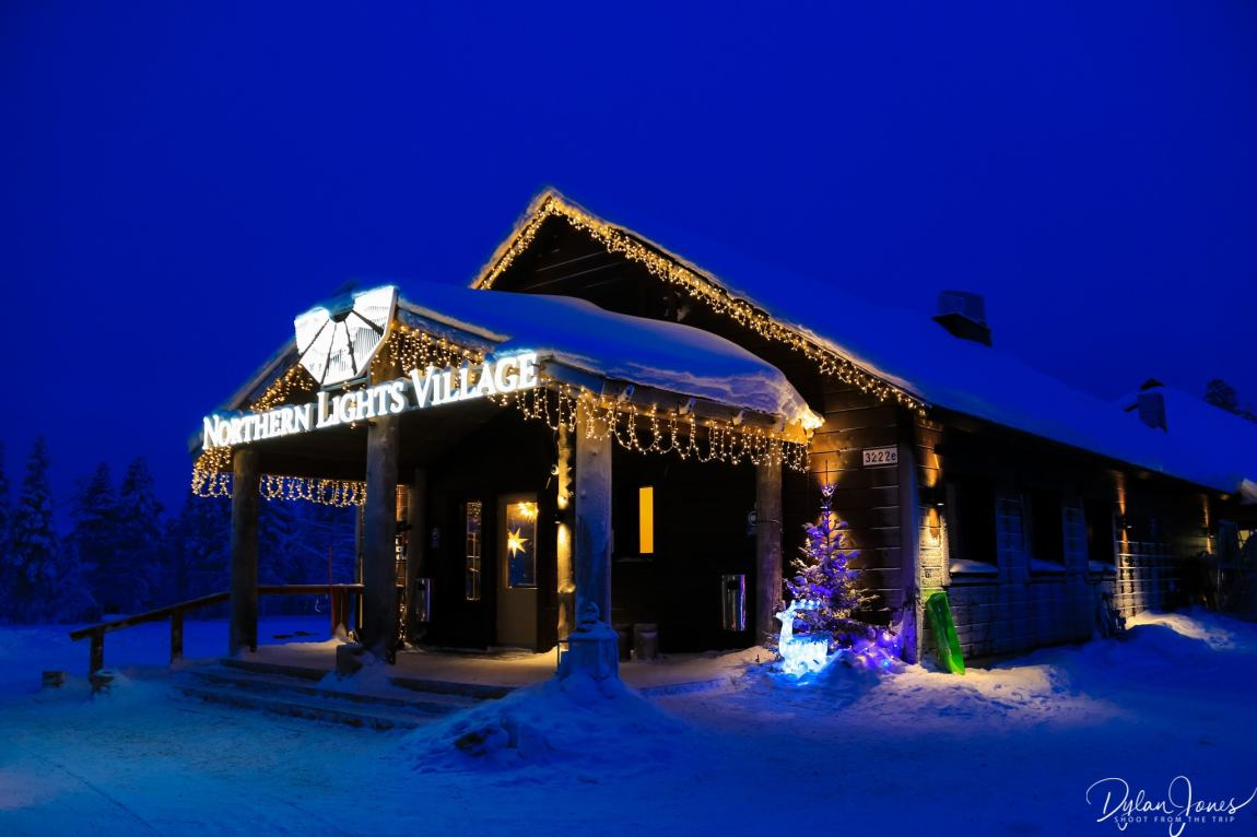 Main Building at the Northern Lights Village Saariselka