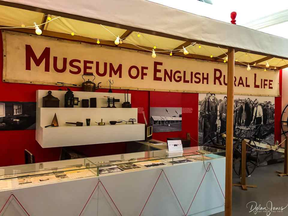 Rural displays at The MERL