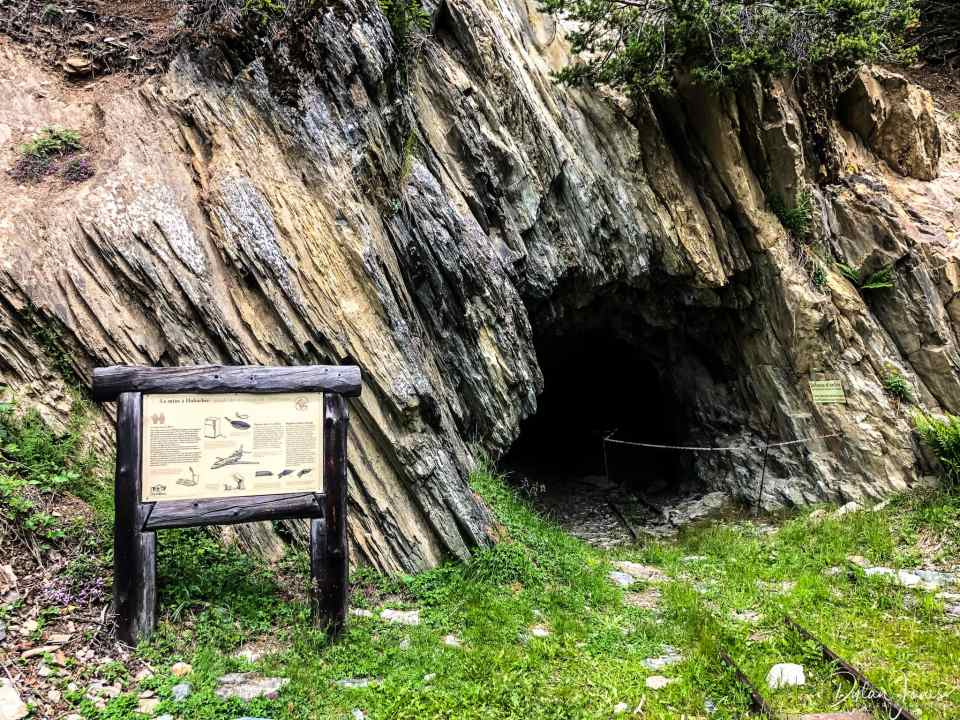 Entrance to the Mont-Chemin mine