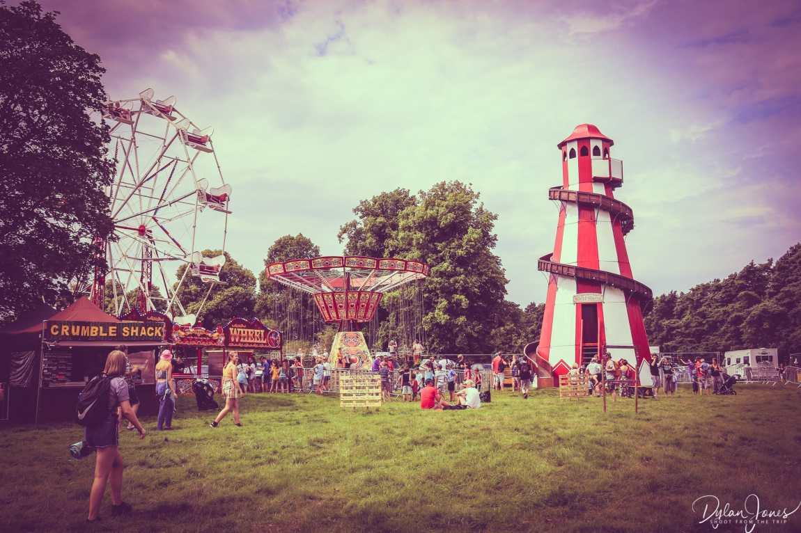 Vintage Fairground at Deer Shed Festival