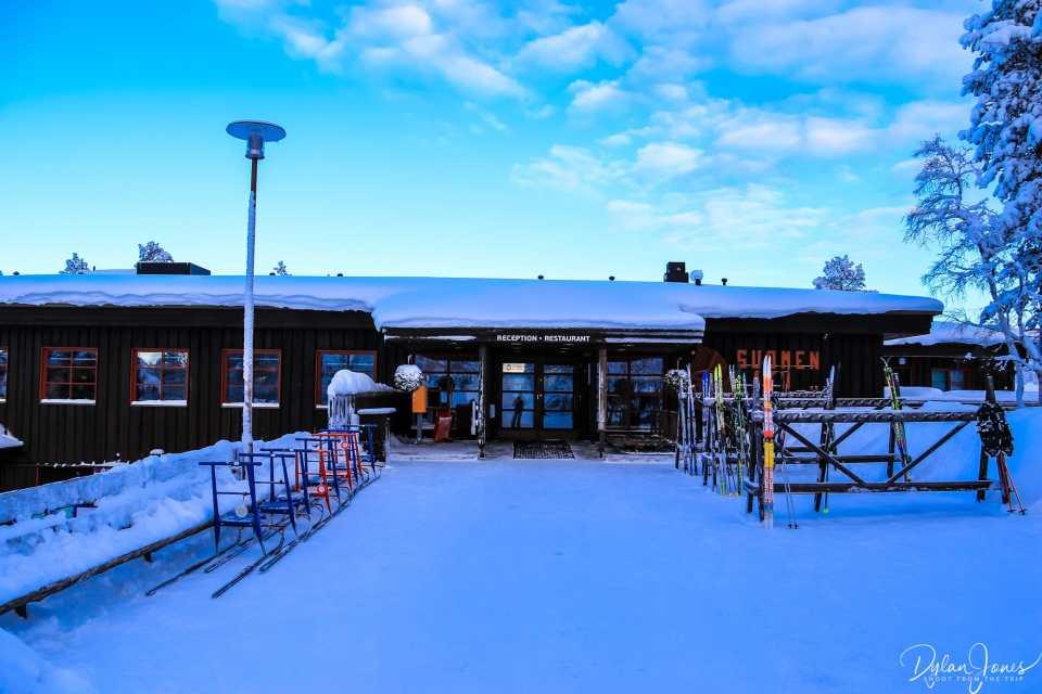 Fell Centre Kiilopää exterior shot