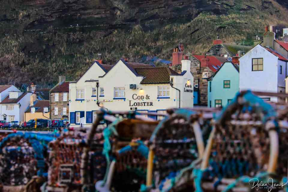 Cod and Lobster public house, Staithes