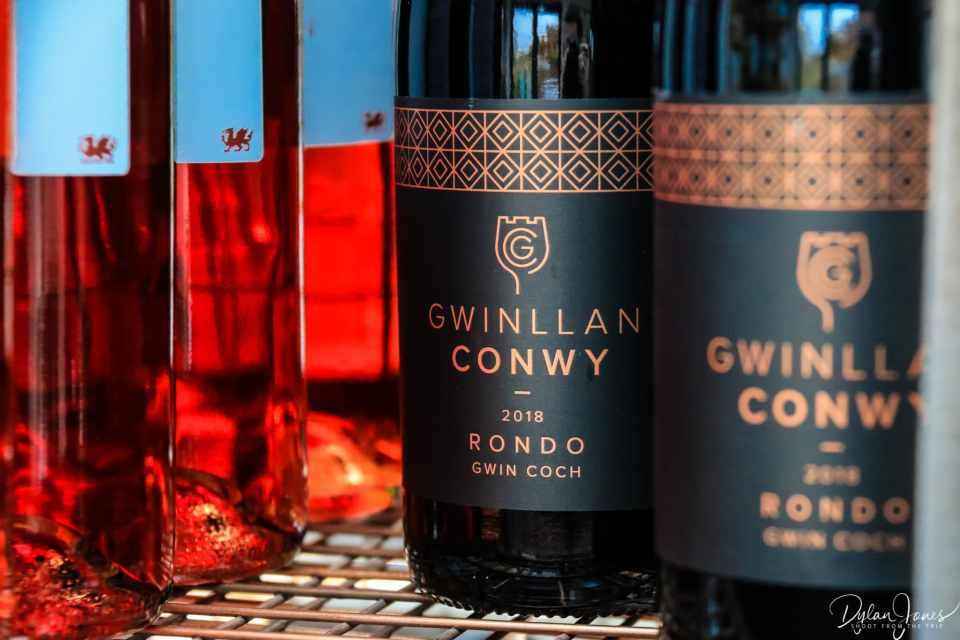 Red wine (Gwin Coch) at Gwinllan Conwy