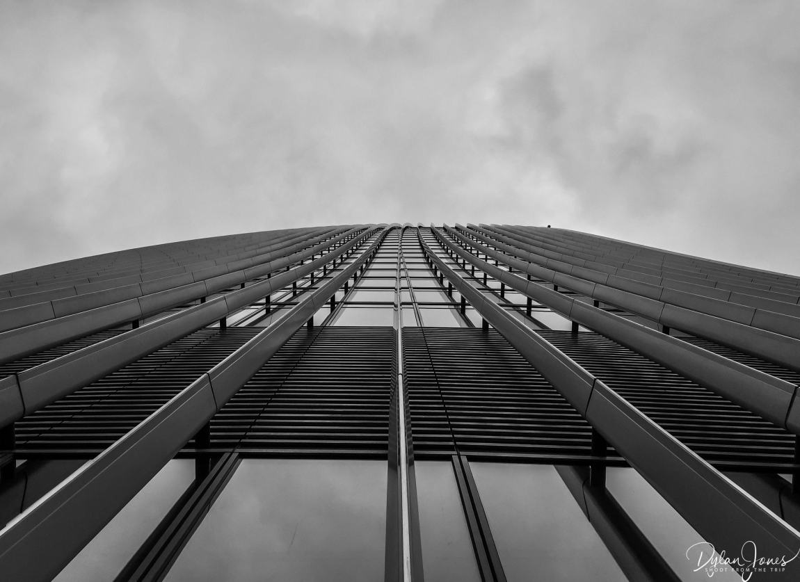Looking up at the Walkie Talkie building, 20 Fenchurch Street