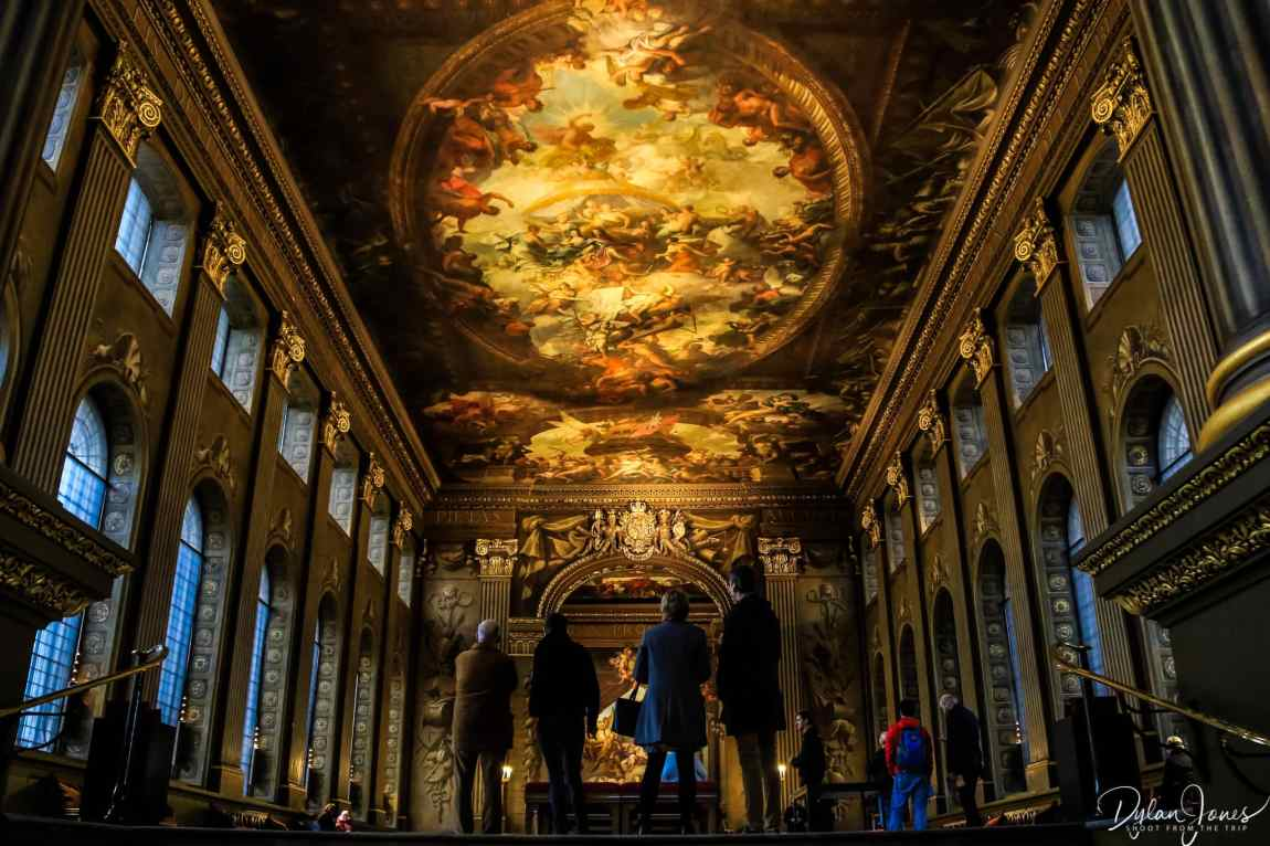 The stunning Painted Hall