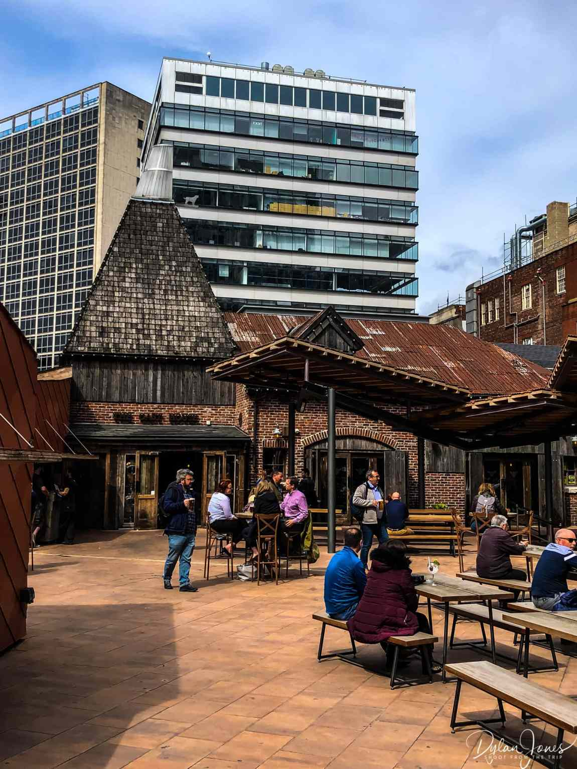 Visiting The Oast House in Spinningfields during 48 hours in Manchester