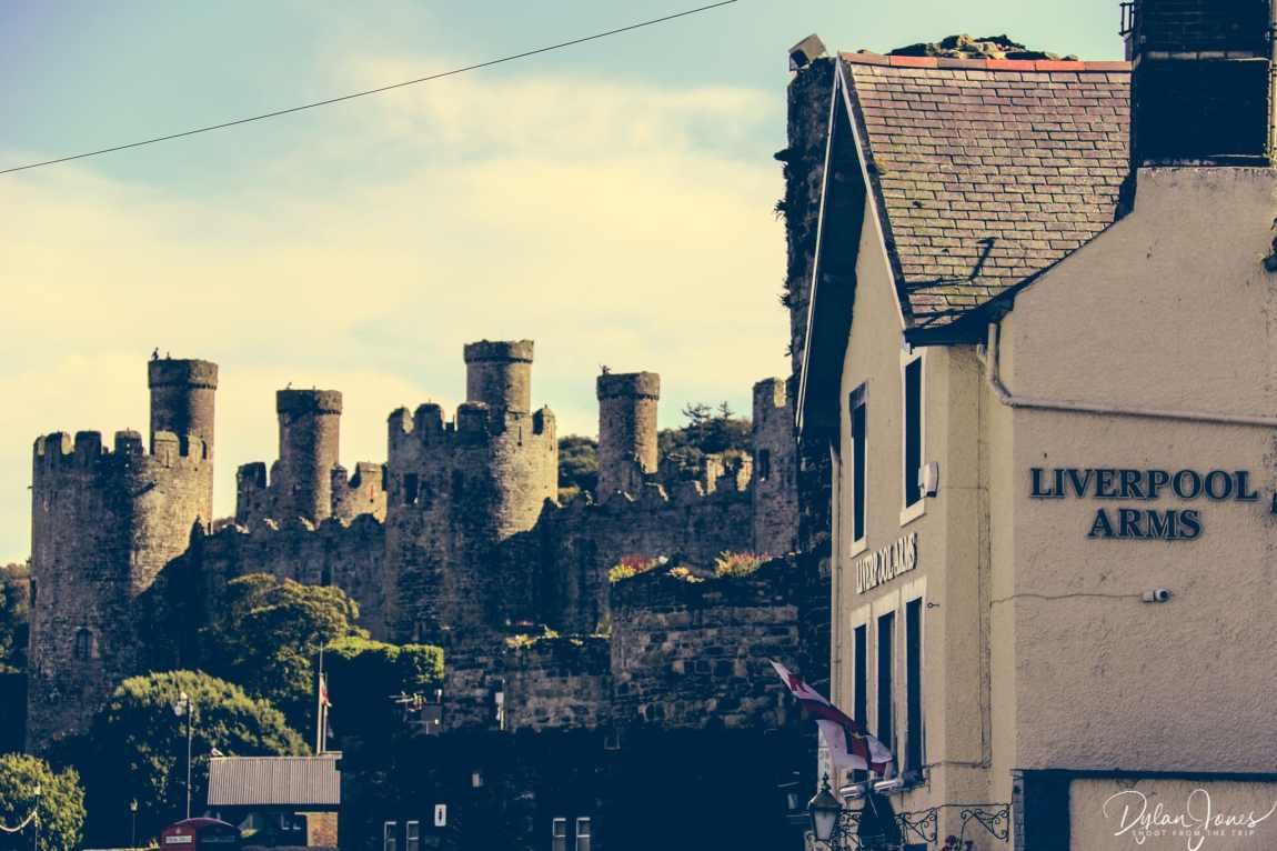 The Liverpool Arms and Conwy Castle