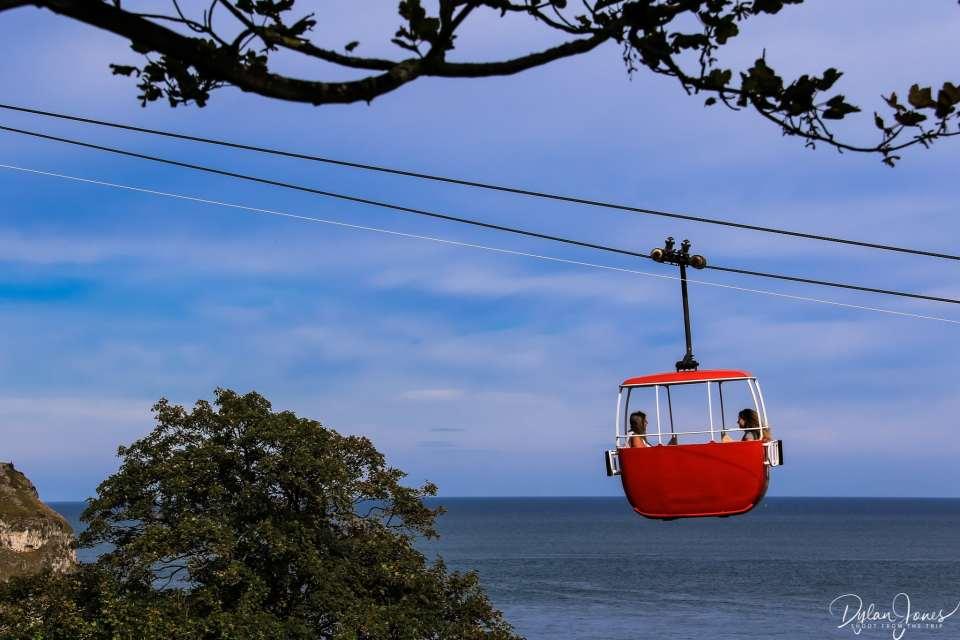 Riding the Llandudno Cable Car