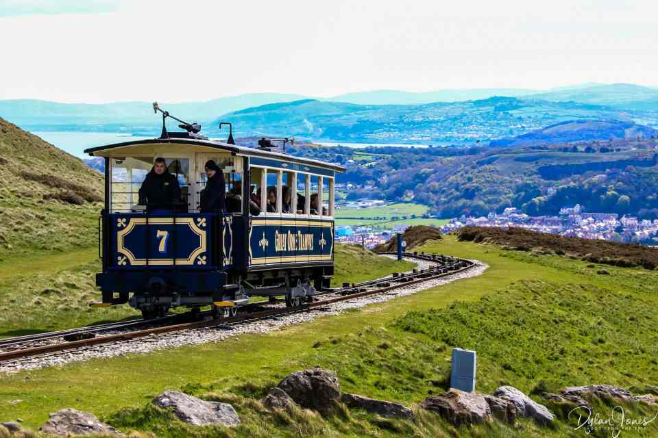 Riding the Great Orme Tramway