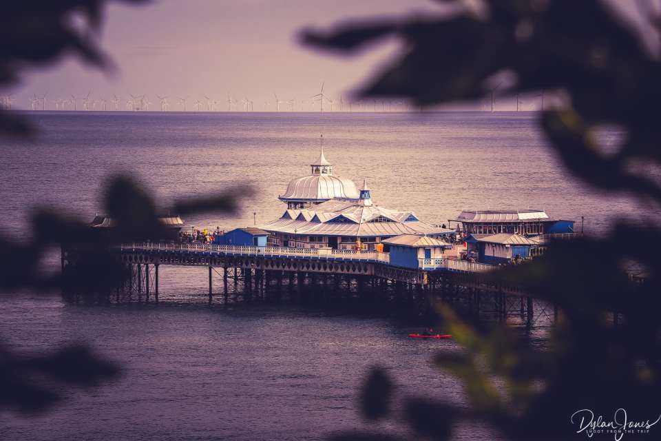 Views of Llandudno's Victorian Pier