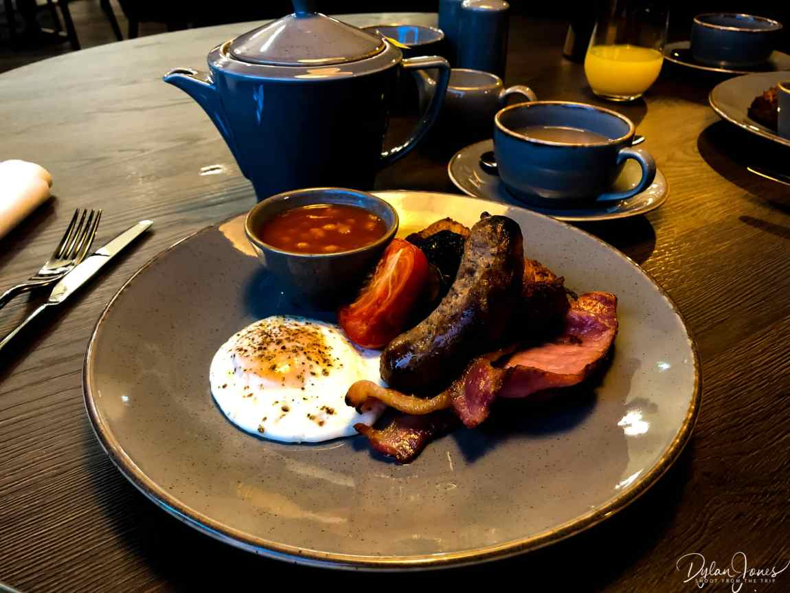 Breakfast time at Hotel Indigo Chester