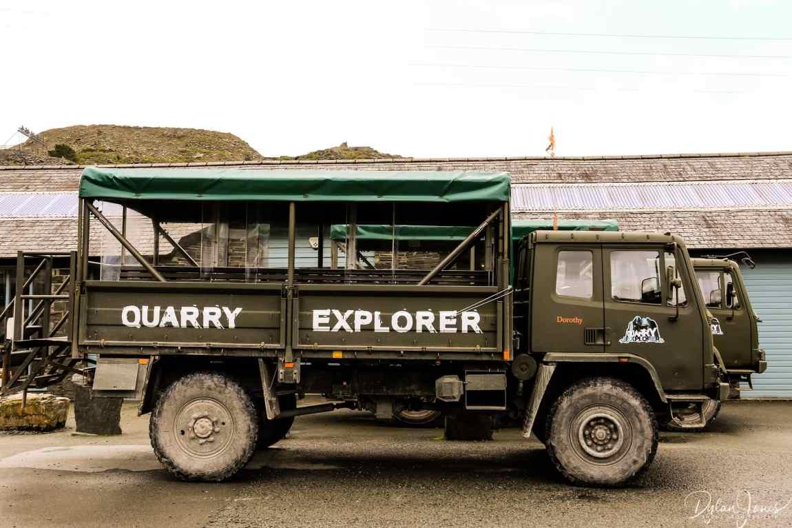 The Quarry Explorer at Llechwedd