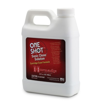 Hornady OneShot Sonic Clean Cartridge Case Solutions