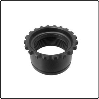 UTG® Standard AR15 Steel Barrel Nut, Black Phosphate Finish