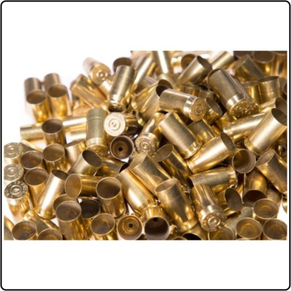 Once Fired Brass 9mm