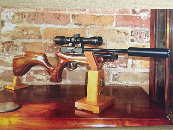 Stunning Laminated Shoulder Stock
