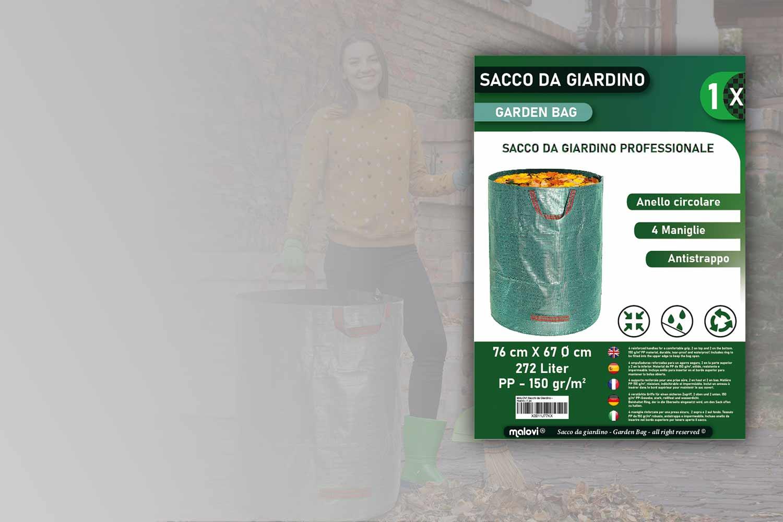 packaging designer foglio presentazione prodotto