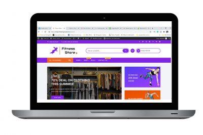 grafico web designer - sito internet per e-commerce abbigliamento
