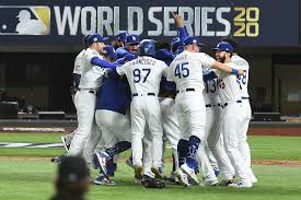 The Dodgers dodge the Rays' to win the World Series