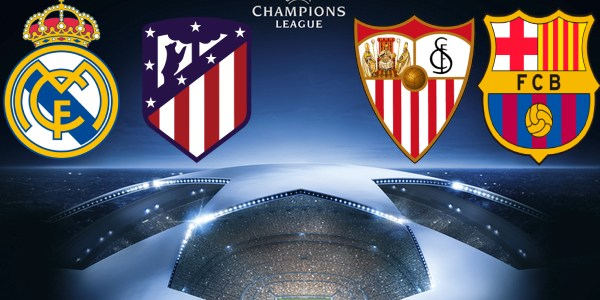 Overall Look Of The Spanish Clubs in the Round of 16 of the Champions League