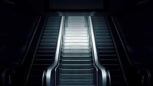 Photo of escalator