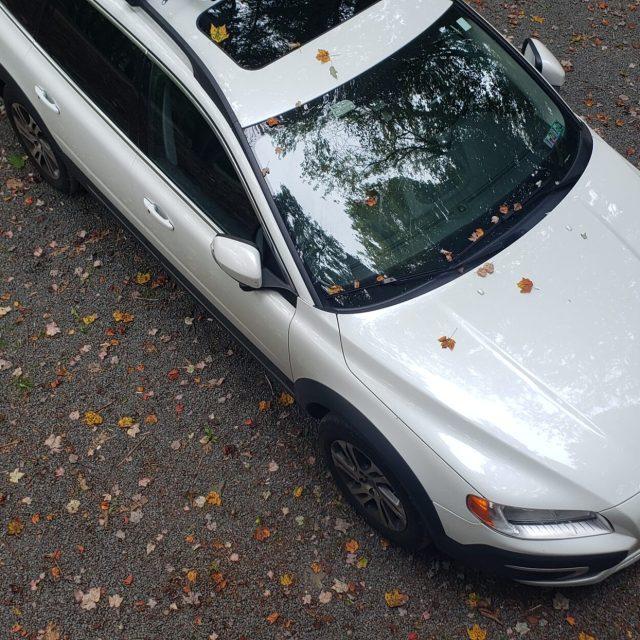 Volvo Car in the Pocono Mountains